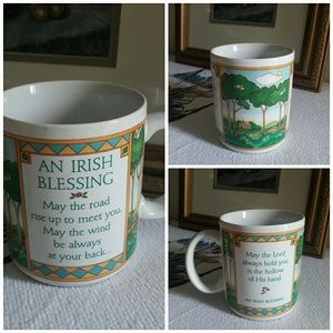 VTG Hallmark Irish Blessing Scenery Graphic Cup